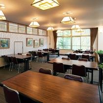 ■2F【お食事処】テーブル席もございます。
