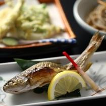 ■岩魚の塩焼き