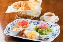 朝食一例 ~ある日のモーニングプレート~