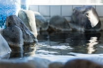 「超軟水」の貸切風呂