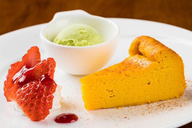 欧風創作コースの夕食一例 ~デザート~