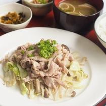 ■日替わり朝食(金曜日)■野菜炒め定食