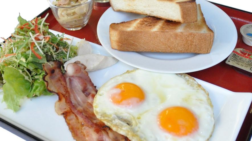 ■ご朝食:洋食■素材と調理法にこだわった卵料理が魅力のひとつ