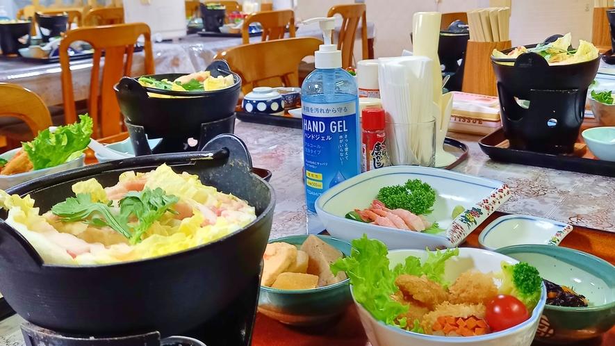 夕食例 ミルフィーユ鍋