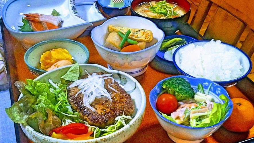 夕食例 ハンバーグ