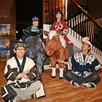 アイヌ民族衣装着付け体験
