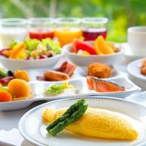 【朝食】 レストランエクラのビュッフェ