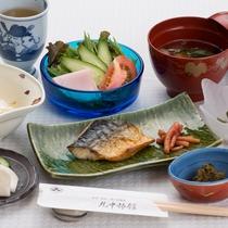 ★ご朝食はバランスの取れた和定食をご用意
