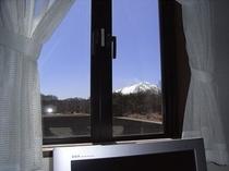 ツインルームⅡ〜窓景色
