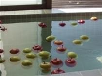 冬はリンゴ風呂