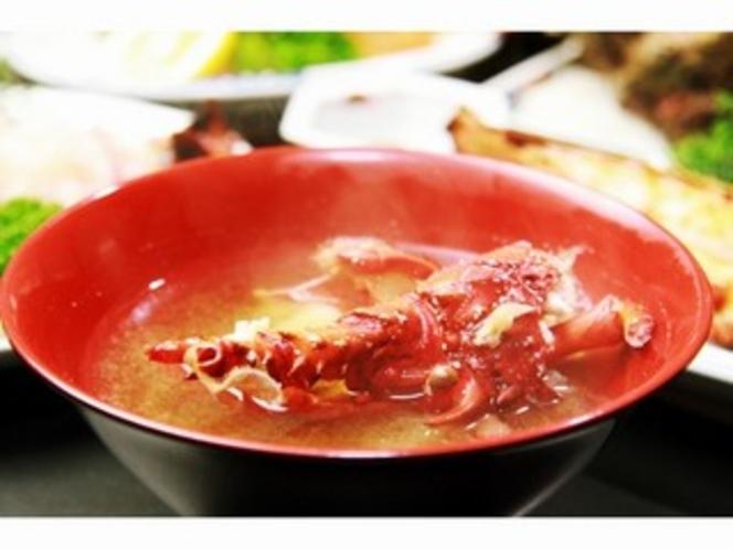 伊勢海老のお味噌汁