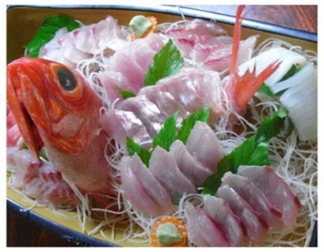 ★金目鯛のお刺身★