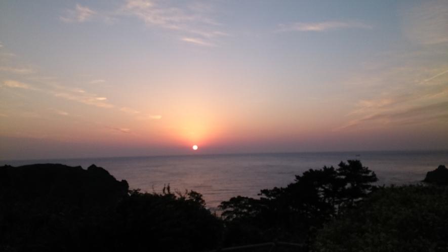 石廊崎の夕日