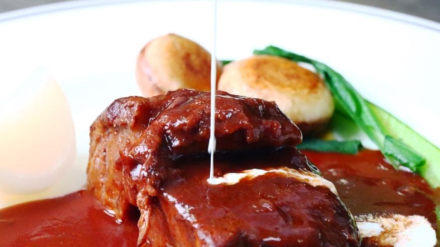 【夕食】肉料理