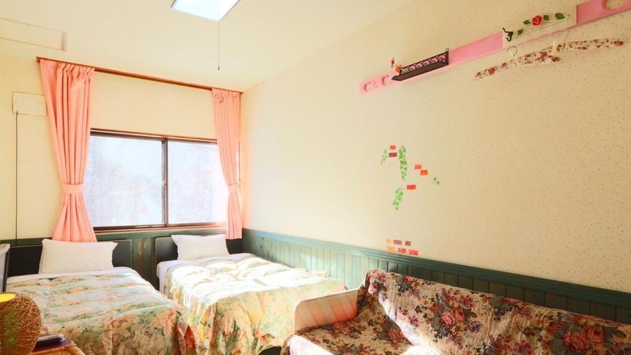 【ツインルーム】お部屋の様子