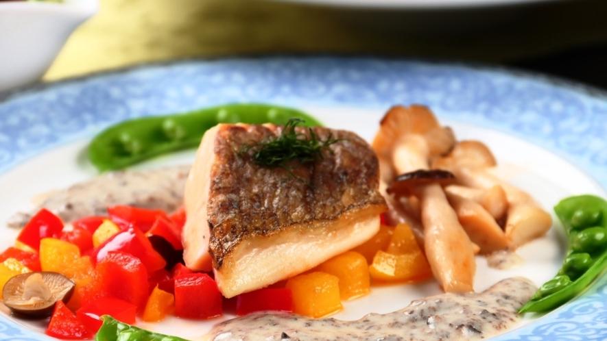 【夕食】魚料理