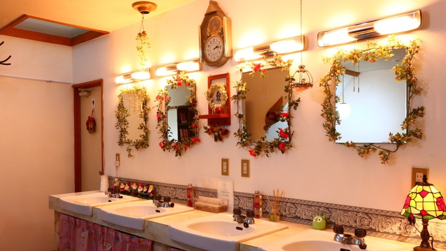 【館内】洗面所の様子