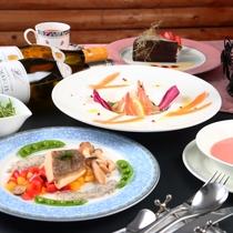 【リーズナブル】魚料理。全体の一例になります
