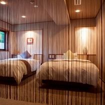 モダン和洋室 ベッドルーム