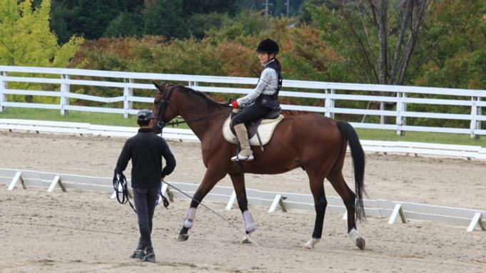 【ロッジ館】蒜山ホースパーク引き馬体験チケット付きプラン