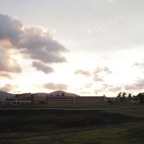 蒜山高原の夕焼け