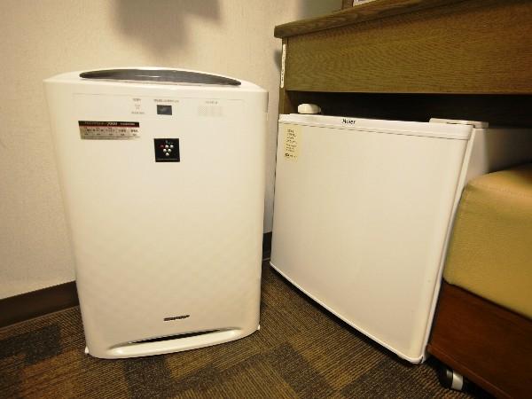 加湿器と冷蔵庫