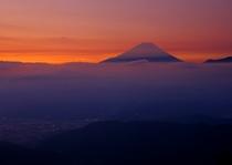 櫛形山から見える~富士山~