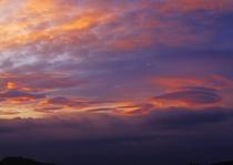 櫛形山から見える~夕焼け~