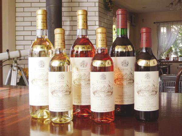 信州産ブドウ100%で作った信州アルプスワイン