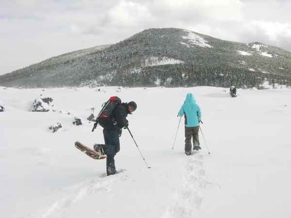 白樺高原国際スキー場にて2
