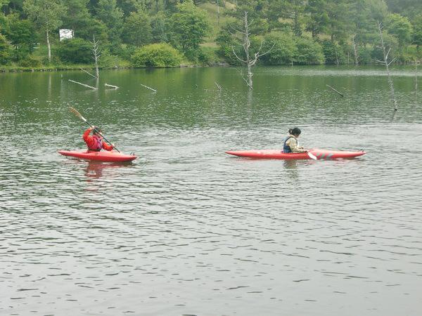 女神湖(カヌー)