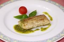 太刀魚のソテージェノバソース