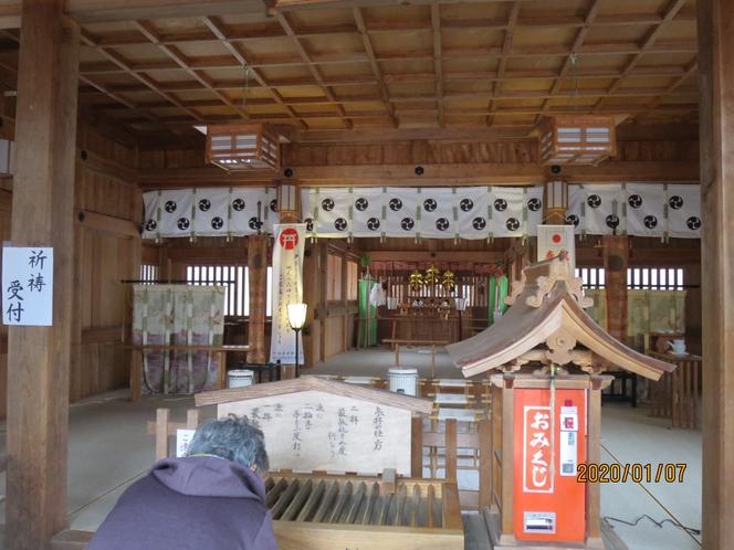 那須高原 温泉神社