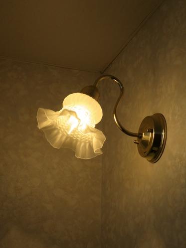 洗面台ランプ
