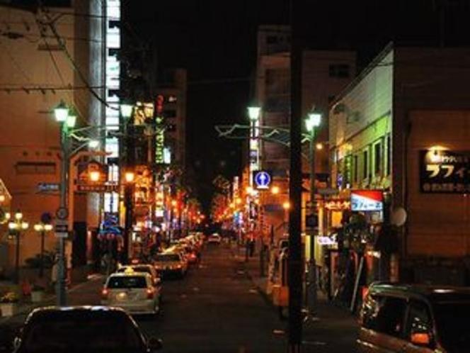 釧路繁華街(末広町)