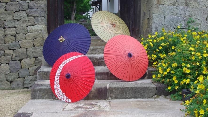 *美馬市伝統の和傘