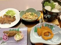 夕食 1,500円