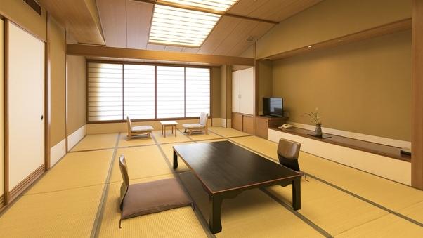 【華水館】 大部屋和室15畳+5畳 <大山側>