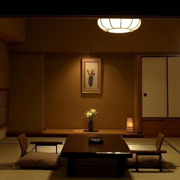 湯賓館露天風呂付き客室