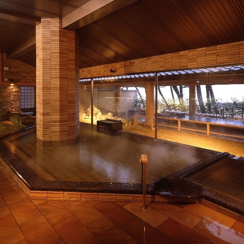 男性用大浴場 松風の湯