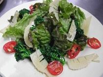 朝食イメージ 春のtossed salad(トスサラダ・和えるサラダ)