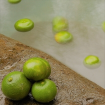 【離れの露天風呂】無農薬のミカン風呂 癒される柑橘の香り(貸切風呂付プランのみ)
