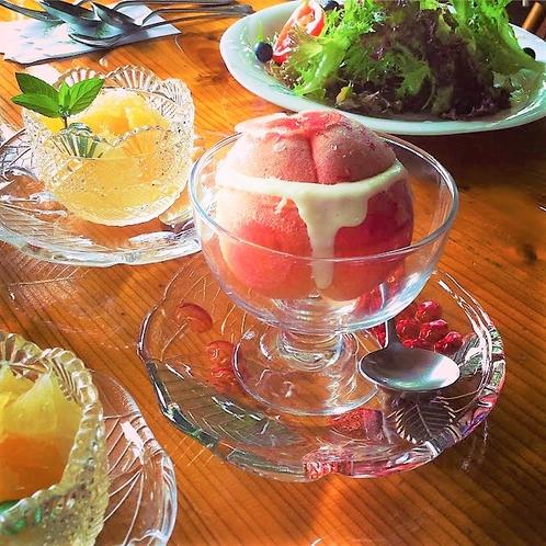 【朝食・スープ】(リピーター様も中々食べられない!)期間限定 7月の冷製スープ