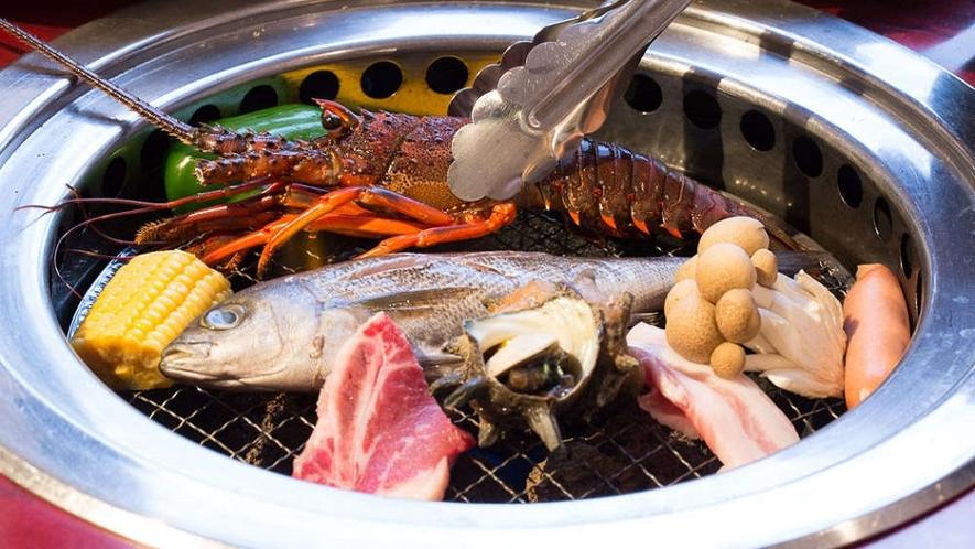 海鮮BBQ♪