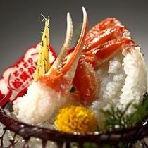 ブランドタグ付き松葉蟹