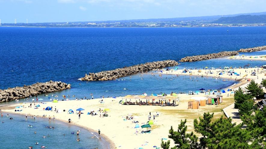 皆生温泉海遊ビーチ
