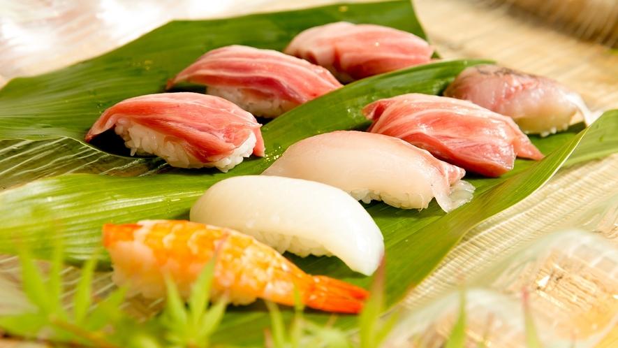 渚のおもてなし料理 ~握り寿司~