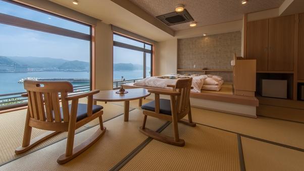 海眺めの特別室【16畳+4.5畳ステージベッド・禁煙】