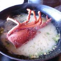 ◆朝食〜伊勢海老ご注文のお客様限定!汁物