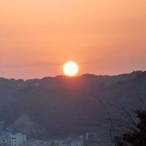 ◆晴れた日には客室から日の出も